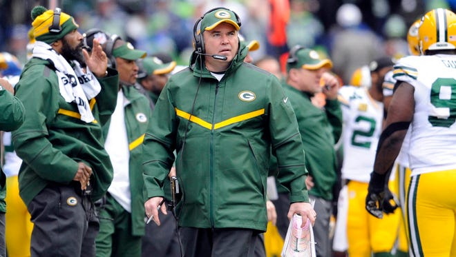 Mike McCarthy's Packers couldn't quite reach their second Super Bowl since he  took over in 2006.