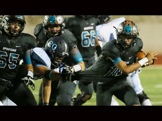 Chapin's Anthony Suarez grabbed the jersey of Pebble