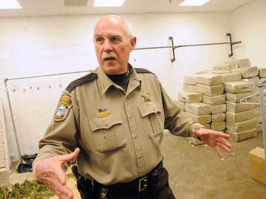 File photo of former Augusta County Sheriff Randy Fisher