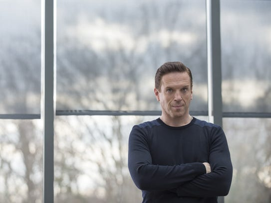 """Damian Lewis in """"Billions."""" His character  Bobby Axelrod"""