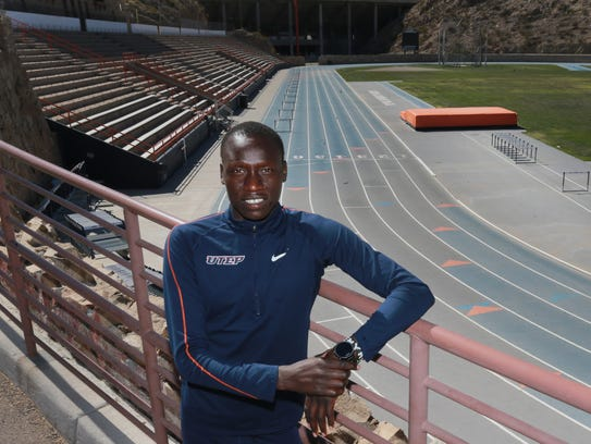UTEP runner Emmanuel Korir won the NCAA indoor title