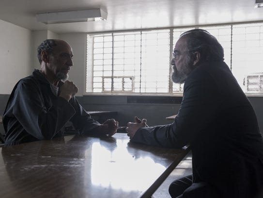 Dar Adal (F. Murray Abraham) and Saul Berenson (Mandy