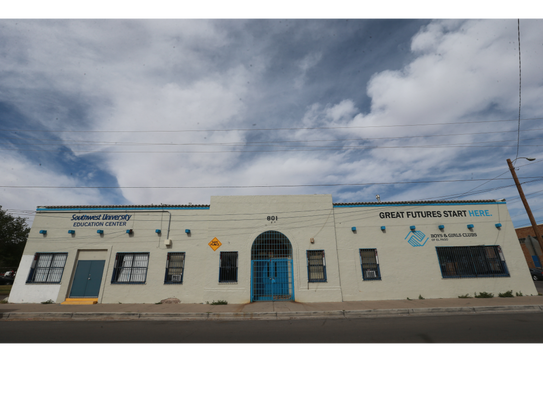 A Boys and Girls Club is located at 801 S. Florence.