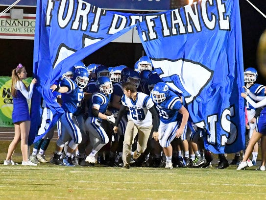 Fort Defiance football ended a 25-game losing streak