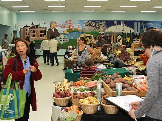 The Oshkosh Winter Farmer's Market is back at  Merrill
