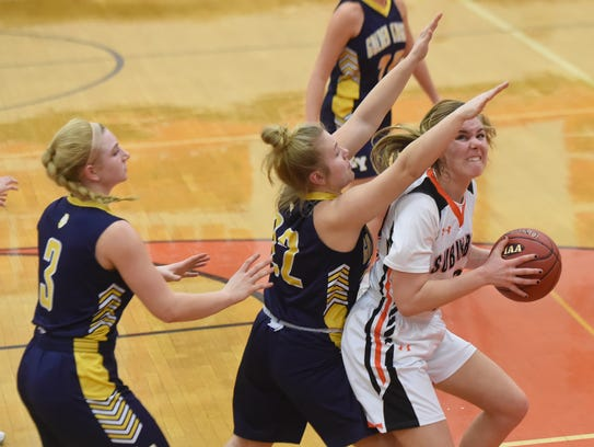 York Suburban's Ali Reinecker in action during the