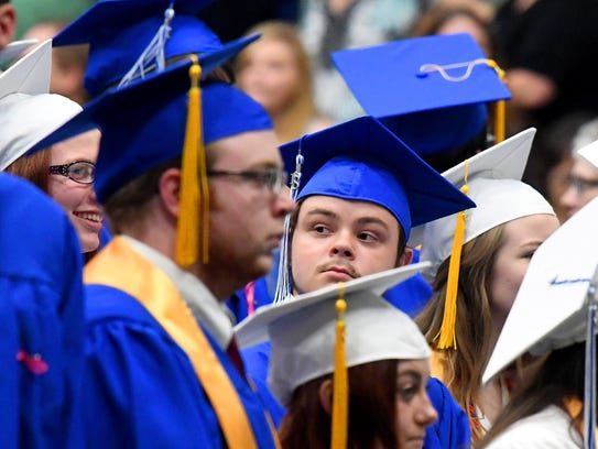 Scenes from the 2018 Commencement Ceremony for Fort