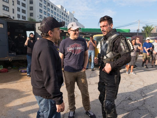 Captain America: Civil War, L to R: Director Joe Russo,