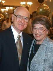 Former Purdue University President Steven Beering, and his wife, Jane, were so committed to the university, friends and family say, that they eventually will be buried on campus. Jane Beering died March 9 and will be buried near Slayter Hill in June.