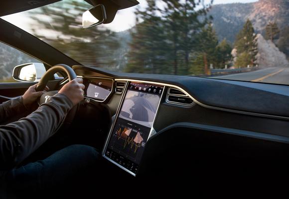Tesla stock info