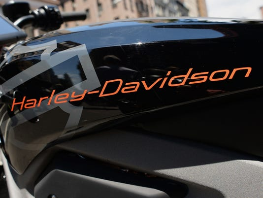 US-ECONOMY-TRANSPORTATION-HARLEY-DAVIDSON-E-BIKE