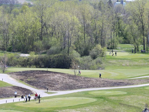 Wind and rolling terrain make Morningstar Golf Course