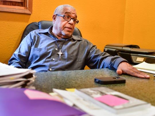 Allen Celestine, the owner of Al's Pest Control named