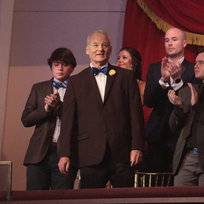 Bill Murray is honored with the Mark Twain Prize for