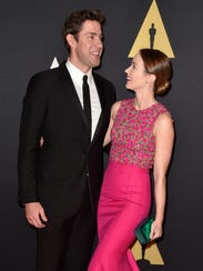 John Krasinski and wife Emily Blunt are a power duo.