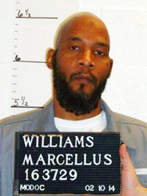 This February 2014 photo provided by the Missouri Department of Corrections shows death row inmate Marcellus Williams. Attorneys for Williams are asking the Missouri Supreme Court and Gov. Eric Greitens to halt his scheduled execution citing DNA evidence that they say exonerates him. Williams is scheduled to die by injection Aug. 22, 2017, for fatally stabbing former St. Louis Post-Dispatch reporter Lisha Gayle during a robbery at her University City home in 1998. (Missouri Department of Corrections via AP)