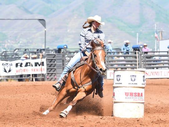 Dixie's McKenna McAllister won her second Utah state
