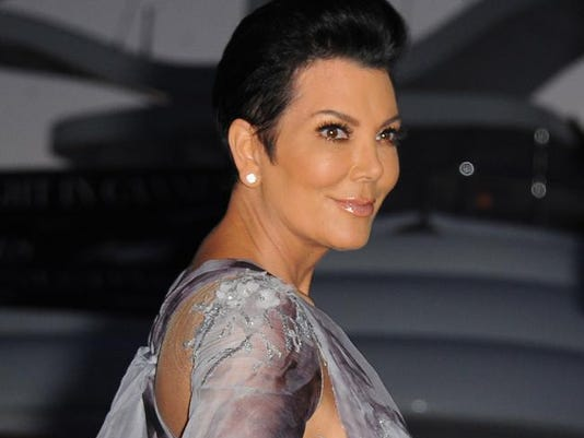 Kris Jenner at MailOnline party