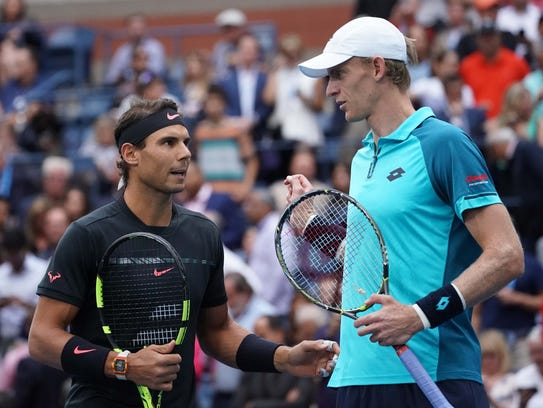 Rafael Nadal says he's known Kevin Anderson since they