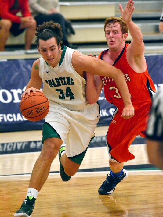 Gettysburg College vs York College men's basketball