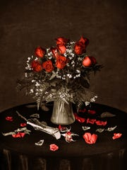 """Richard - """"Red for love. And…anger."""""""