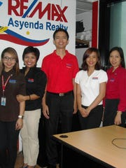 For information on real estate and property rights in the Phillipines and short-term leases, consult a realtor. Pictured is the RE/MAX Asyenda realty leasing team from left: Liselle Garcia, Marivic Ganaden, Ron Cagape, Jennica Bandellon and Joy Gallido.