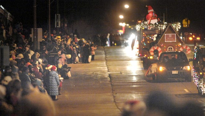 Wausau's Annual Holiday Parade will be at 6:30 p.m. Friday at Marathon Park, and will work its way along Stewart Avenue to The 400 Block in downtown.