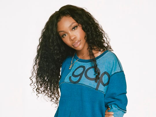 Singer-songwriter SZA is part of Gap's newest campaign, highlighting their company logo.