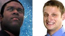 Sam Richardson, left, and Tim Robinson