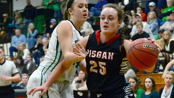Pisgah senior Maddie Webb has committed to play college