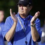 Duke coach David Cutcliffe looks to get his team back on track against Georgia Tech.