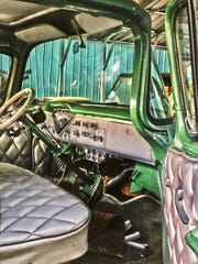 "Maryville High School senior Anna Alloway won the East Tennessee Student Art Exhibition's best in show award for ""Grandpa's Truck."""