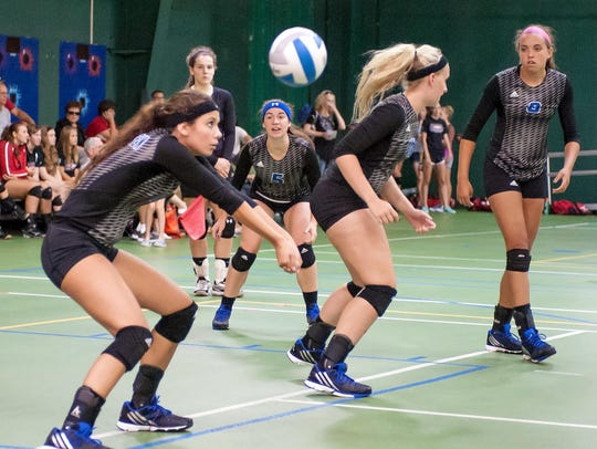 The Harper Creek volleyball team is off to a 19-1 start