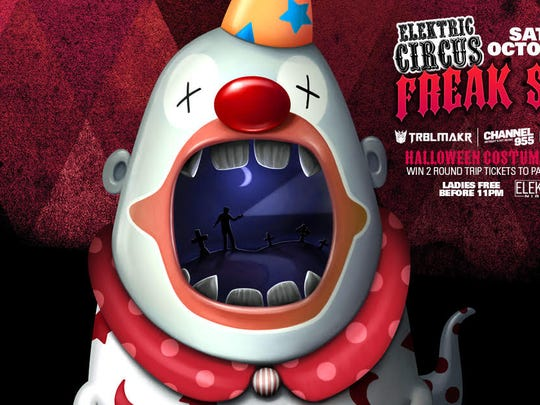 DJ sets by TRBLMAKR and Flippa LO as well as a  back-to-back set with Pontoon Joe and Enjoi (on the patio) are on tap for Friday's Elektric Circus Freak Show at Elektricity in Pontiac.