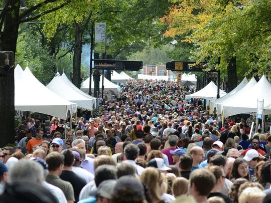 Fall for Greenville returns to fill the streets.