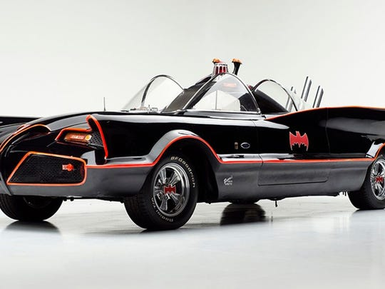 """A replica of the """"original"""" Batmobile will be on display"""