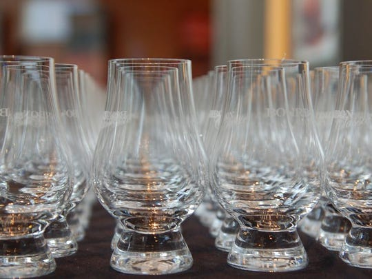 Bourbon tasting glasses.