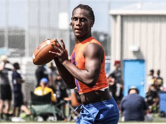 Quarterback Joe Milton, a four-star prospect out of