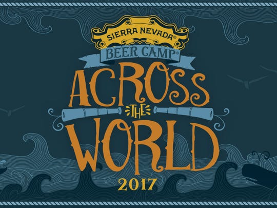 Beer Camp Across the World is 12 beers featuring collaborations with Sierra Nevada Brewing.