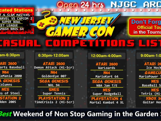 New Jersey Gamer Con, has expanded and will be held