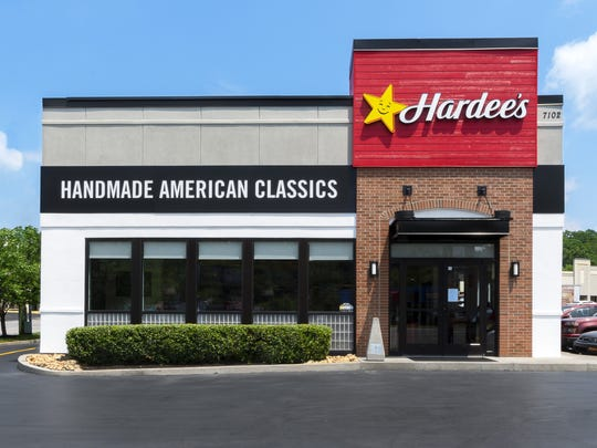 Hardee's unveiled a store redesign in Bellevue with