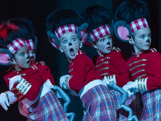 Youth dancers are chosen to participate in 'The Nutcracker,'