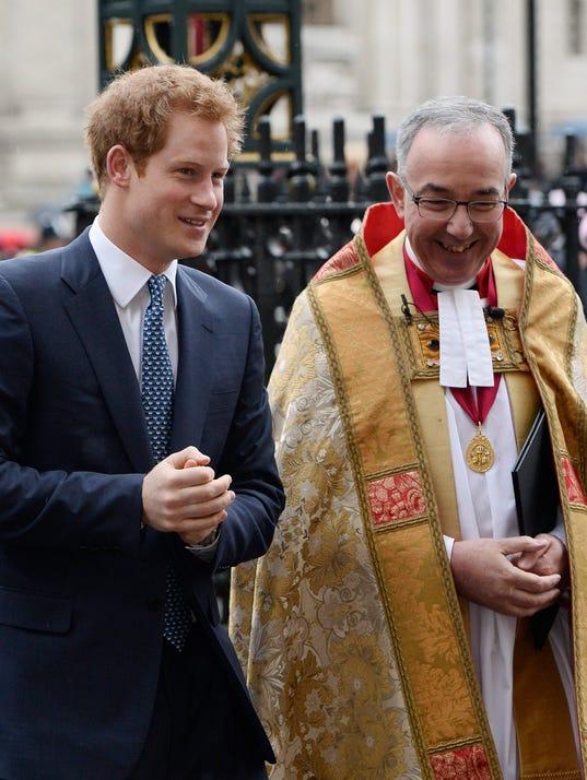 Prince Harry Rev. John Hall