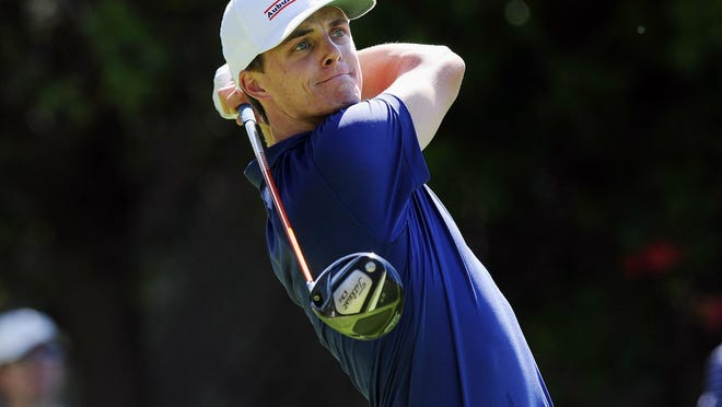 Former Auburn golfer Blayne Barber will participate in the Barbasol Championship this week at Grand National in Opelika.