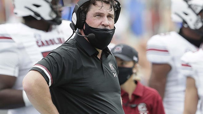 South Carolina head coach Will Muschamp was fired Sunday with a 28-30 overall record and a 17-22 mark in the SEC.