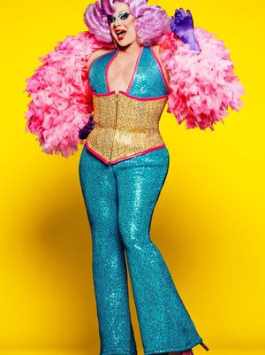 """Nina West, in a publicity photo for """"RuPaul's Drag Race,"""" will sing two songs in """"Howard Crabtree's When Pigs Fly."""""""