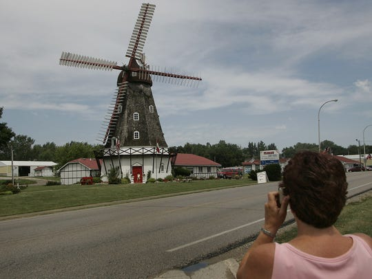 Danish Windmill, Elk Horn