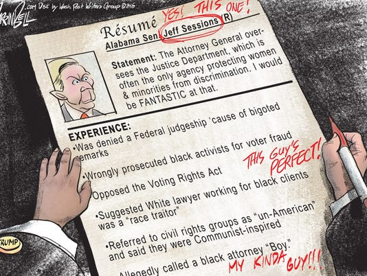 Sessions' resume