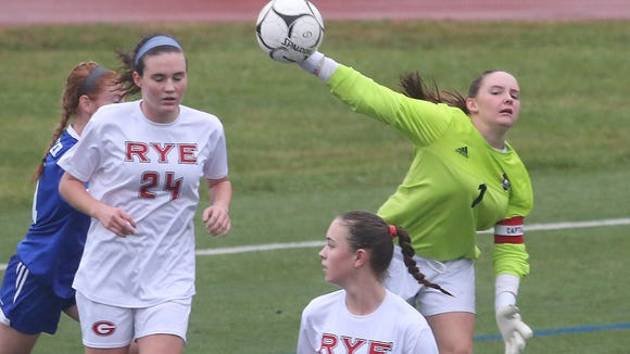 Pearl River defeated Rye 1-0 in 4OT  in the Section