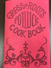 The Grassroots Potluck Cook Book, printed in 1979,
